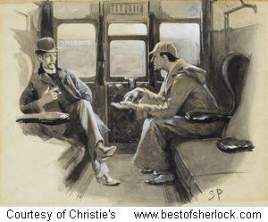 Sherlock Holmes Paintings For Sale
